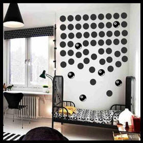 De Waal Art Kids Rooms Vinyl Art